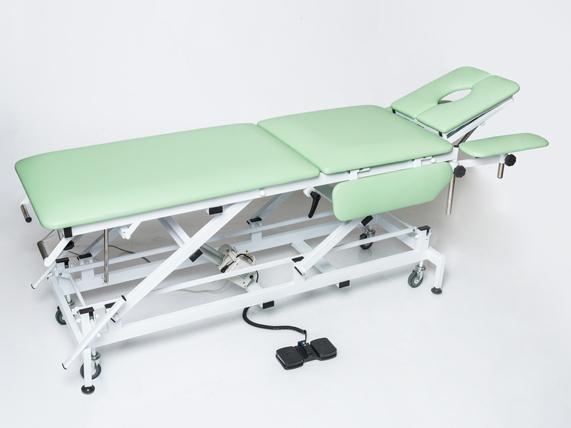 Массажный стол с электроприводом КСМ-04э стационарный медицинский