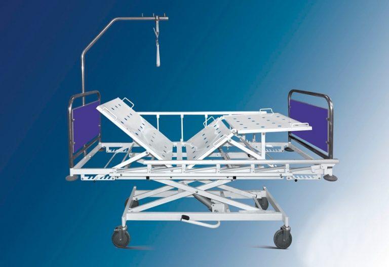 Кровать с гидроприводом КМ3Фг-02 (на колесах)