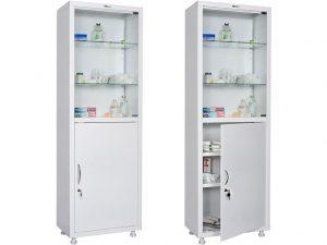 Медицинский шкаф HILFE МД 1 1760/SG