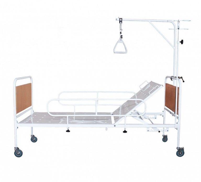 Кровать медицинская  КФМ-01 съемные колеса