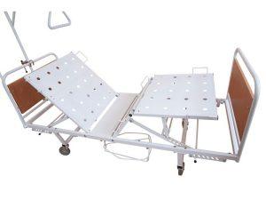 Медицинская кровать КФМ4-01 на колесах