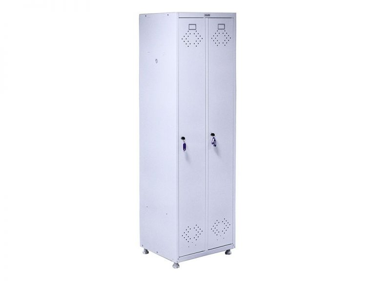 Медицинский шкаф для раздевалок МД 2 ШМ-SS