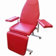 Кресло донора для забора крови К-02дн - цвет Красный