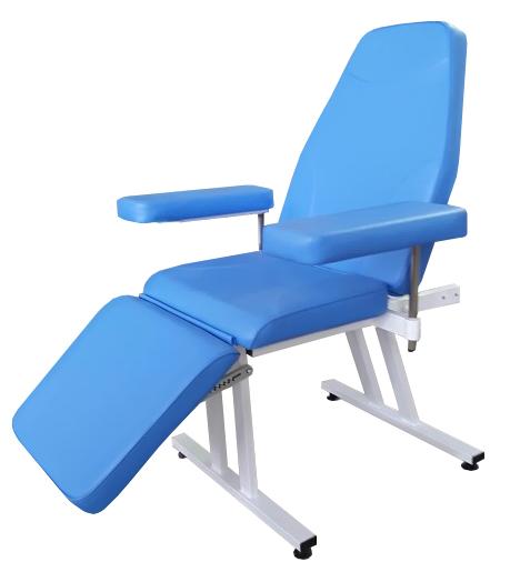 Донорское кресло к-02дн для забора крови в процедурный кабинет СИТИЛАБ  с широкими подлокотниками