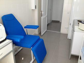 Кресло для забора крови с подлокотниками к-02дн - цвет Синий  CMD