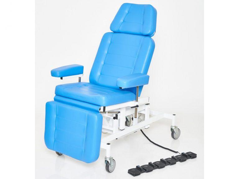 Кресло лор пациента с 3 электроприводами вариант №3
