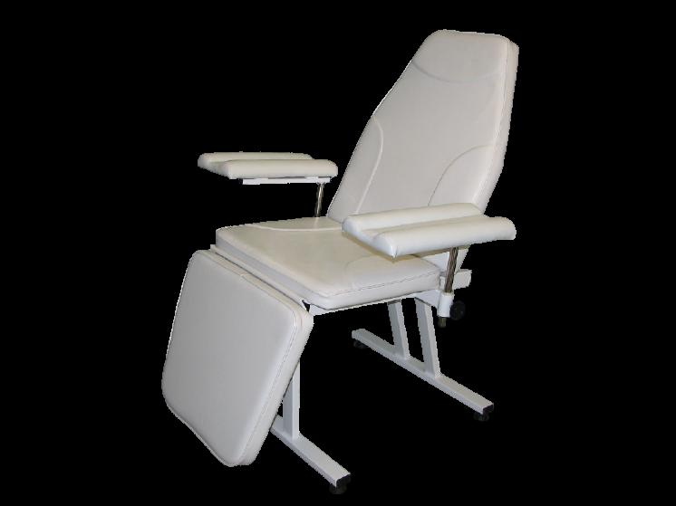 Кресло донора для забора крови  К-02дн - цвет Белый