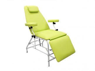 Донорское кресло для забора крови тип 04 цвет Гемотест серия  ДР