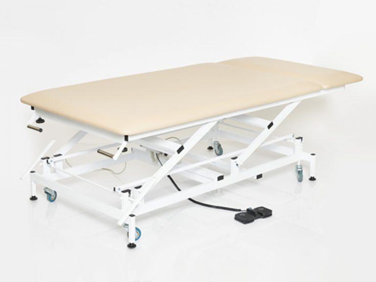 Массажный широкий стол с электроприводом КСМ-042э стационарный