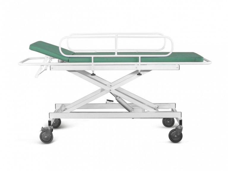 Тележка для перевозки больных с гидроприводом
