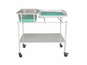 Кровать для новорожденных со столиком КНПС