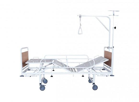 Кровать механическая  КФМ3-01 съемные колеса