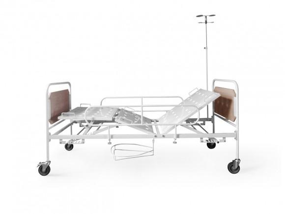 Кровать механическая КМФ3-01 на колесах
