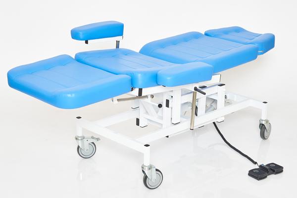 Кресло для забора крови К-044э с электроприводом