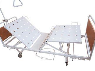 Медицинская кровать Ока-Медик КМФ4-01 на колесах