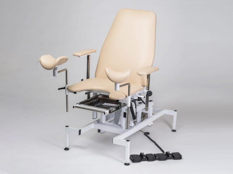 Гинекологическое кресло КСГ 02э   Смотровое Мединжиниринг  с 2 (двумя) электроприводами