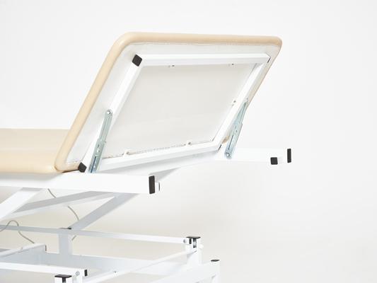 Массажный стол на гидроприводе КСМ-042г стационарный