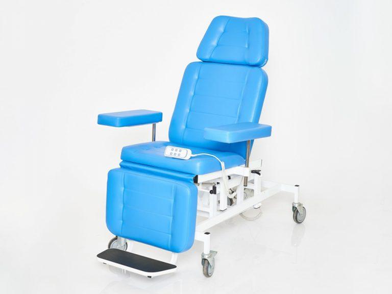 Кресло донорское   с 3 электроприводами К-045э-3 (для диализа)