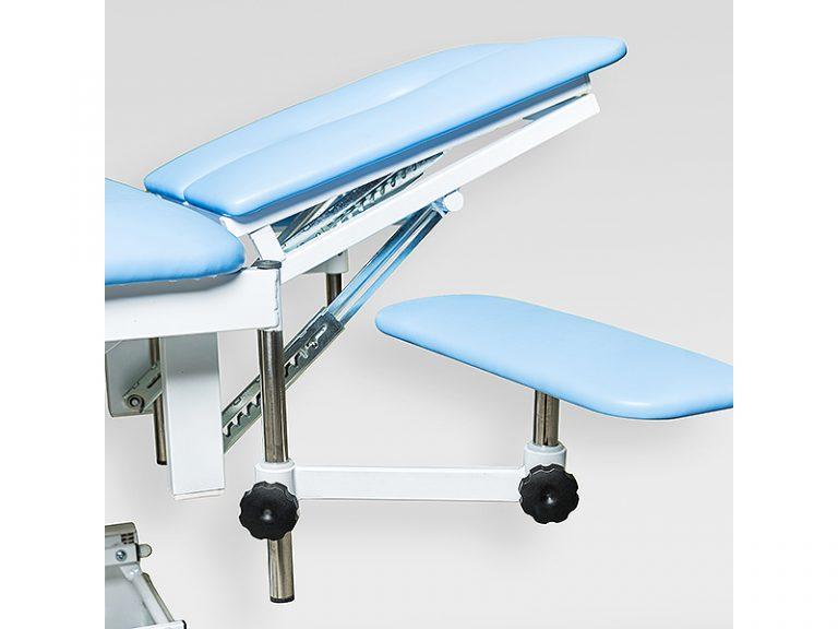 Массажный стол медицинский с электроприводом КСМ-041э стационарный