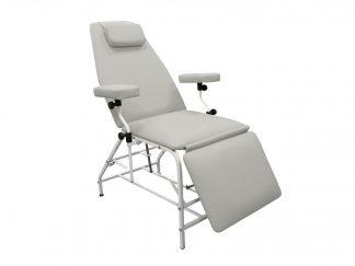 Донорское кресло для забора крови тип 04 цвет Серый КДЛ серия ДР