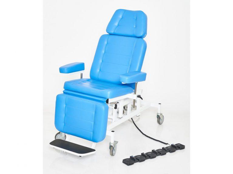 Кресло лор пациента с 3 электроприводами вариант №4