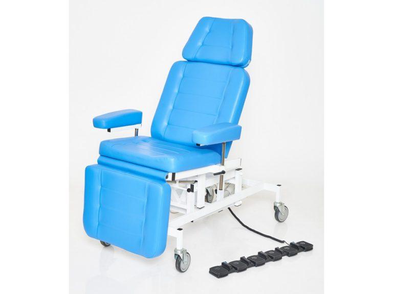 Терапевтическое кресло для процедур с 3 электроприводами вариант №3