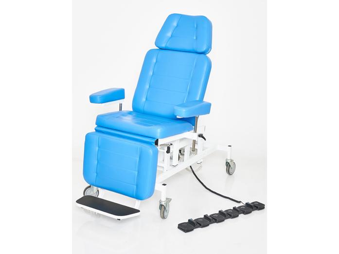 Терапевтическое кресло для процедур с 3 электроприводами вариант №4