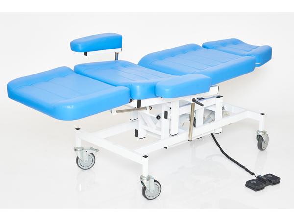 Кресло Лор пациента (отоларинголога) с электроприводом высоты вариант №1