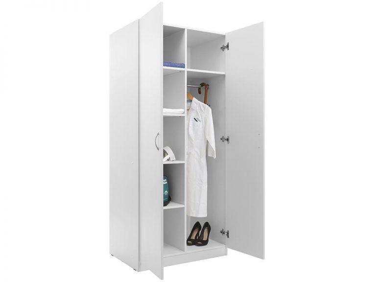 Шкаф для одежды MW-2 1880 белый
